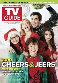 December 20, 2010. featuring the cast of Modern Family.
