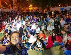 Hoy en Villarrica vivimos un día para el recuerdo. Hermoso el recibimiento y la participación de la gente los medios nuestros artistas y conductores. Gracias por tanto Villarrica! Este 4 y 5 de noviembre #EstamosTodos para superar la meta.