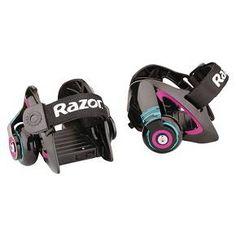 Razor Jetts Heel Wheels Skate - Purple : Target