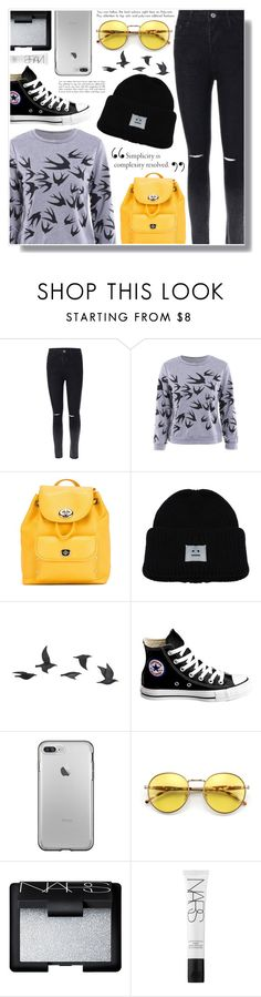 """""""Twinkledeals 1"""" by becky12 ❤ liked on Polyvore featuring Coach, Jayson Home, Converse, Wildfox, NARS Cosmetics, school, teen, teenfashion and twinkledeals"""