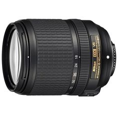 Nikon AF-S DX Nikkor 18-140mm f/3.5-5.6G ED VR Lens, Blue