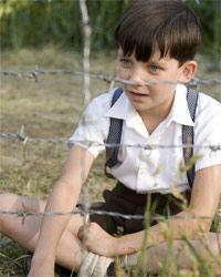 The boy in the striped pyjamas. cried like a baby.