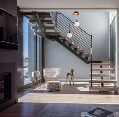 Beach Haven Residence, Staircase.