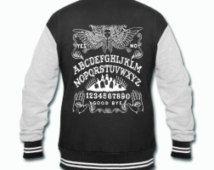 Ouija Board Angel varsity jacket