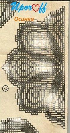 Toalha Filet Crochet Charts, Crochet Borders, Crochet Mandala, Crochet Stitches Patterns, Freeform Crochet, Thread Crochet, Crochet Motif, Crochet Designs, Crochet Doilies