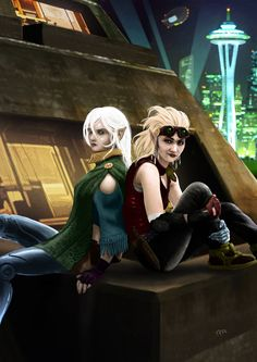 Shadowrun Character Commission Artwork by raben-aas on DeviantArt