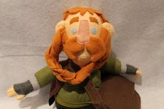 The Hobbit Bombur plush toy by quietsnooze on Etsy