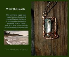 Caged Abalone Pendant