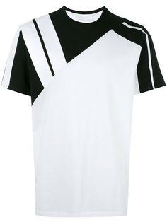 Neil Barrett パネルデザイン Tシャツ
