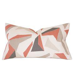 Sconset Salmon Decorative Pillow  75e061e48