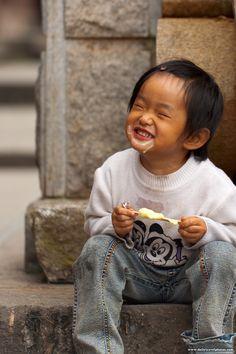 Love the ice cream - Dali, Yunnan, China