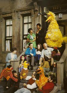The original Sesame Street:) those were the good old days !