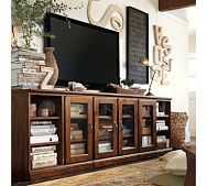 Olivia Cubby - Tuscan Chestnut stain   Pottery Barn  ,IF I HAD THISSS maybe i could get my coffee table back????