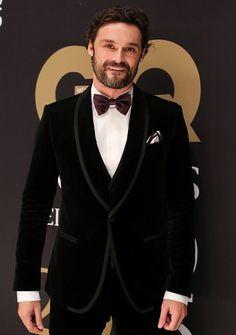 Ivan Sanchez en los premios GQ Mexico.
