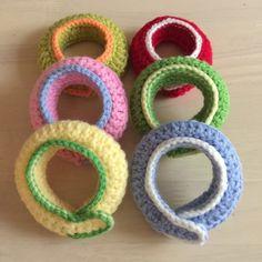 蛇口まわりの水あか防止カバー 第2弾|LIMIA (リミア) Crochet Projects, Knit Crochet, Crochet Earrings, Projects To Try, Knitting, Crafts, Jewelry, Exercises, Manualidades
