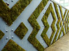 Beautiful integration of natural and man-made. Environmental Design by Anna Garforth