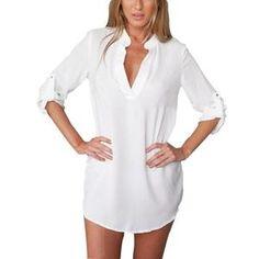 Chiffon Maternity Blouse #chiffon #maternity #blouse #pregnant #pregnancy #partialsleeve #tomaternityandbeyond