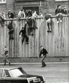 Football Firms, Football Hooliganism, Football Casuals, Football Stadiums, School Football, Newcastle Football, Northern Ireland Troubles, Nostalgic Pictures, St James' Park
