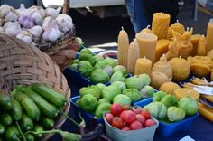 Kelowna Farmers' and Crafters' Market, Canada. A great stop for local fall produce and goods