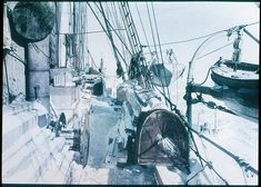 The Deck of the Endurance by Frank Hurley