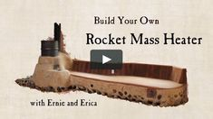 Join us for a step-by-step walkthrough of proven methods for building your own rocket mass heater. The only instructional video that shows you how to build a Rocket… Build A Rocket, Eco Construction, Wood Burning Heaters, Rocket Mass Heater, Tyni House, Stove Heater, Le Double, Outdoor Oven, Tadelakt