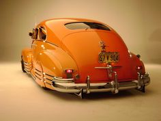 orange Chevy Fleetline