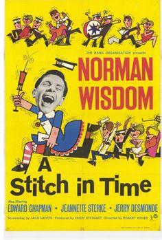 (1963) - ''A Stitch in Time'' - Norman Wisdom, Edward Chapman, Jeanette Sterke