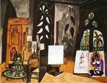 "Studio of 'California"" in Cannes - Pablo Picasso"