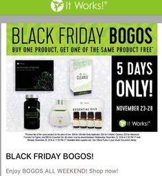 Buy One Get One FREE! Ultimate Body Applicators ( Body  Wraps)- Tighten, tone & firm your problem area The Cleanse- Clean your insides out without the worry of being in the restroom all day Fat Fighters- Removes fats and carbs from unhealthy and/ or cheat meals so they dont stay in your body. Controls weight gain Essential Oils & Hunidifier - Get a spa like aura in the comfort of your own home  SHOP at classygurllifestyle.com Call/Txt 646 625 9840