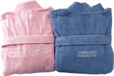 Peignoirs de bain personnalisés pour un couple amoureux : Chou et Choupinette réalisé par Brodeway.com #cadeaupersonnalisé #peignoirdebain Love Couple, Cabbages
