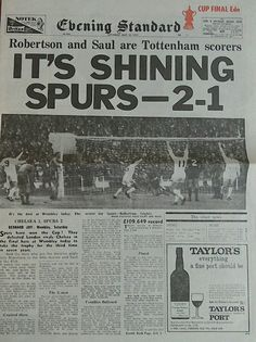 Spurs win the '67 fa cup final