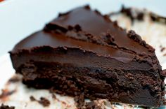 Joshua's Flourless Chocolate Cake