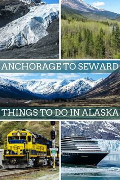 Seward is the departure port for Alaska Cruises to the Inside Passage. With traveler flying into Anchorage, take a few days to enjoy the beauty of Alaska Wilderness by driving the Seward Highway road trip from Anchorage to Seward. With beautiful sights like the Harding Icefield, Exit Glacier, Hope, Alyeska Resort, Whittier, Portage Glacier, Summit Lake. Make the Seward Highway trip part of your best alaska cruise inside passage experience.