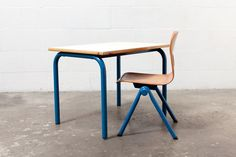 Children's Retro Table and Chair Set