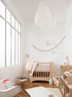 "Room of April , daughter of Sophie , owner of "" Les Enfants du Design "" store"