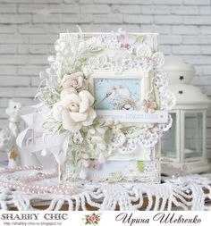 New Ideas For Shabby Chic Cards Ideas Altered Art Shabby Chic Salon, Shabby Chic Office, Shabby Chic Garden, Shabby Chic Flowers, Shabby Chic Frames, Shabby Chic Farmhouse, Shabby Chic Background, Shabby Chic Birthday, Shabby Chic Pillows