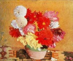 Peonies - Stefan Luchian Art Database, Impressionism, Flower Art, Art History, Still Life, Peonies, Art Nouveau, Instagram Posts, 1 Februarie