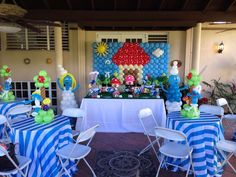 Smurfs Birthday Party Ideas | Photo 1 of 27 | Catch My Party