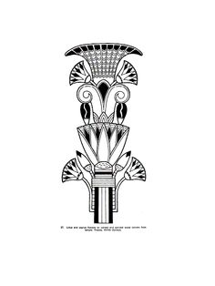 coloring page Egypt on Kids-n-Fun. At Kids-n-Fun you will always find the nicest coloring pages first! Egyptian Tattoo, Egyptian Art, African Drawings, Art Nouveau, Egypt Design, Symbol Drawing, Ancient Egypt Art, Egyptian Pharaohs, Cool Coloring Pages