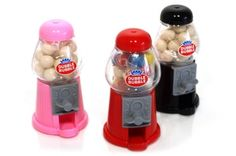 Mini Gumball Machines - w/Gumballs favor idea