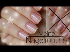 Tipps&Tricks meine Nagelpflege-Routine - Formen - Feilen - Pflegen - YouTube