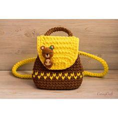 De Croche De Croche barbante De Croche com grafico De Croche de mao De Croche festa - Bolsa De Crochê Crochet Doll Pattern, Crochet Dolls, Crochet Clothes, Crochet Patterns, Crochet Handbags, Crochet Purses, Crochet Backpack, Yarn Bag, Girls Bags