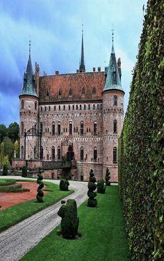 Egeskov Castle II ~ Europe's best preserved Renaissance water castle, Funen, Denmark