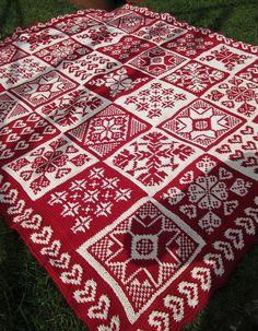 Ravelry: Coeurs et Flocons pattern by La Droguerie