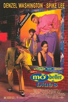 """Spike Lee's """"Mo' Better Blues"""" starring Denzel Washington & Wesley Snipes! (1990)"""