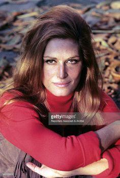Italian-born French singer and actress Dalida (Iolanda Cristina Gigliotti) posing. Paris, 1970