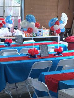 Dr. Seuss Birthday! #firstbirthday #decorations