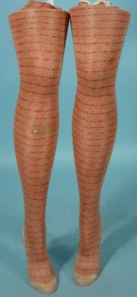 How cool is this. 19th century Victorian era stockings.