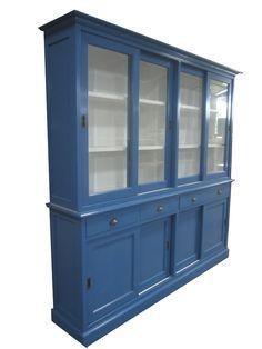 Buffetkast blauw Loenen 220cm