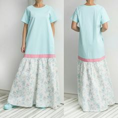 New SS16 Maxi model // Maxi Cotton dress with pockets ! Very beautiful colors, superb quality fabrics, comfy design! A must have for this Spring Summer!